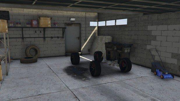 GTA V Online missing car