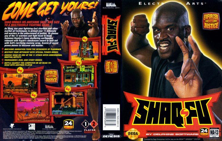Shaq Fu [1994]