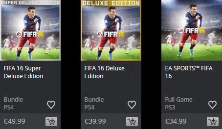 Fifa16 cenovky