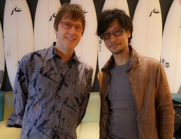 Mark Cerny a Hideo Kojima