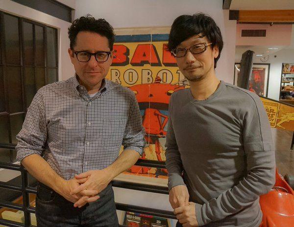 J.J. Abrams, režisér napríklad najnovšieho pokračovania Star Wars spoločne s Hideo Kojimom.