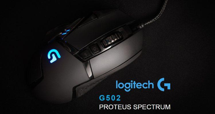 695bb9d86 Logitech G502 Proteus Spectrum - Herná myš, ktorá stojí za to ...