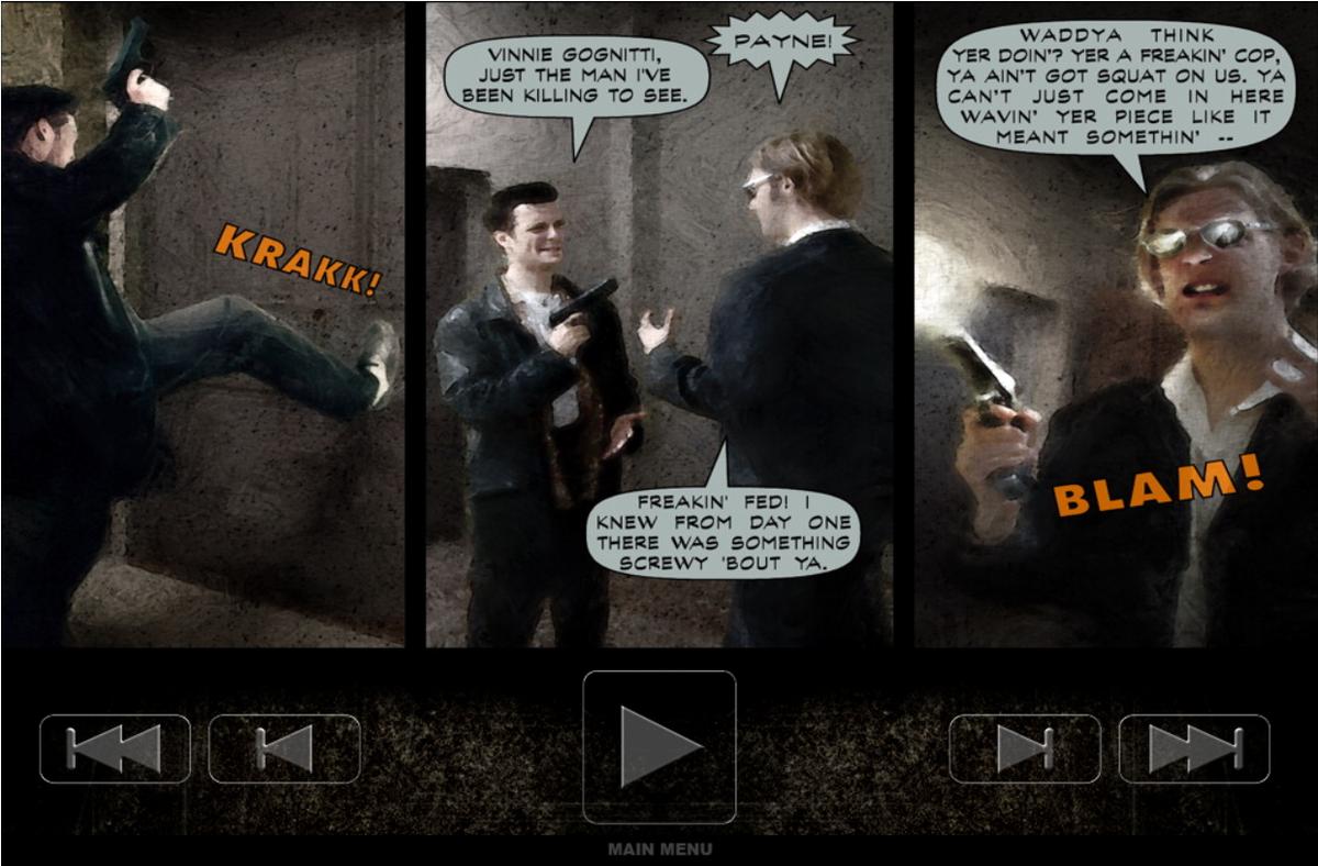Max Payne Comic