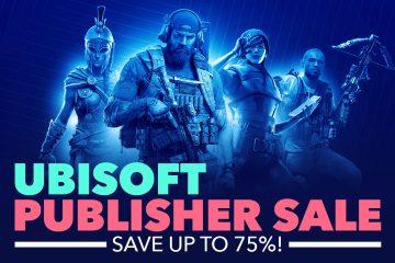 Ubisoft výpredaj